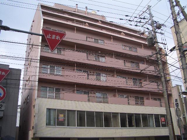 北海道札幌市中央区、西11丁目駅徒歩10分の築45年 8階建の賃貸マンション