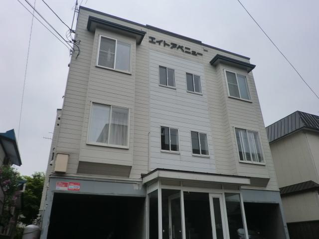 北海道札幌市中央区、バスセンター前駅徒歩5分の築31年 3階建の賃貸アパート