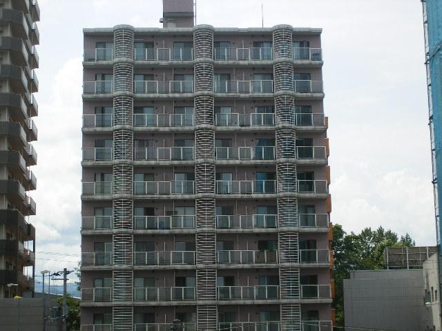 北海道札幌市中央区、中島公園駅徒歩6分の築25年 11階建の賃貸マンション