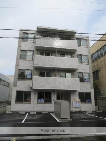 北海道札幌市中央区、苗穂駅徒歩14分の築3年 4階建の賃貸マンション