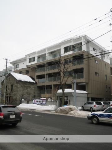 北海道札幌市中央区、札幌駅徒歩8分の築1年 5階建の賃貸マンション
