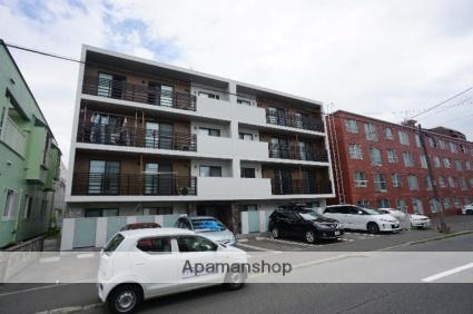 北海道札幌市中央区、二十四軒駅徒歩13分の築1年 4階建の賃貸マンション