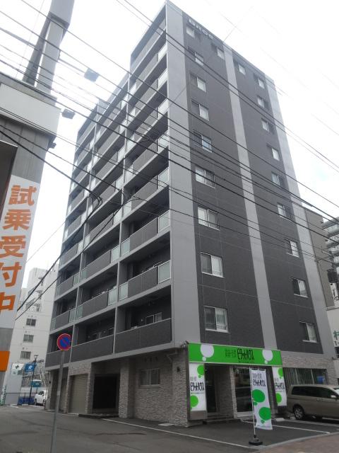 北海道札幌市中央区、札幌駅徒歩6分の新築 10階建の賃貸マンション