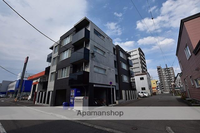 北海道札幌市中央区、バスセンター前駅徒歩5分の新築 4階建の賃貸マンション