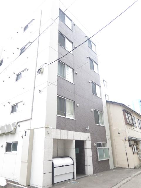 北海道札幌市中央区、バスセンター前駅徒歩4分の築1年 5階建の賃貸マンション