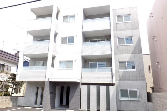 北海道札幌市中央区、東屯田通駅徒歩6分の新築 4階建の賃貸マンション