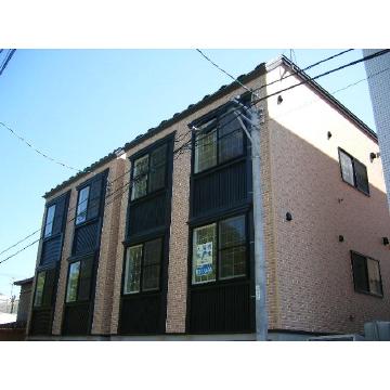 北海道札幌市中央区、幌南小学校前駅徒歩5分の築10年 3階建の賃貸アパート