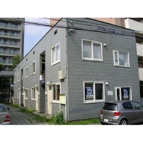 北海道札幌市中央区、幌平橋駅徒歩10分の築42年 2階建の賃貸アパート