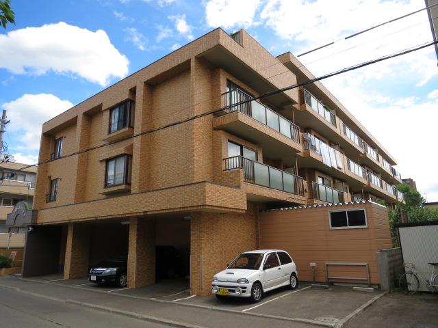 北海道札幌市中央区、琴似駅徒歩15分の築23年 4階建の賃貸マンション