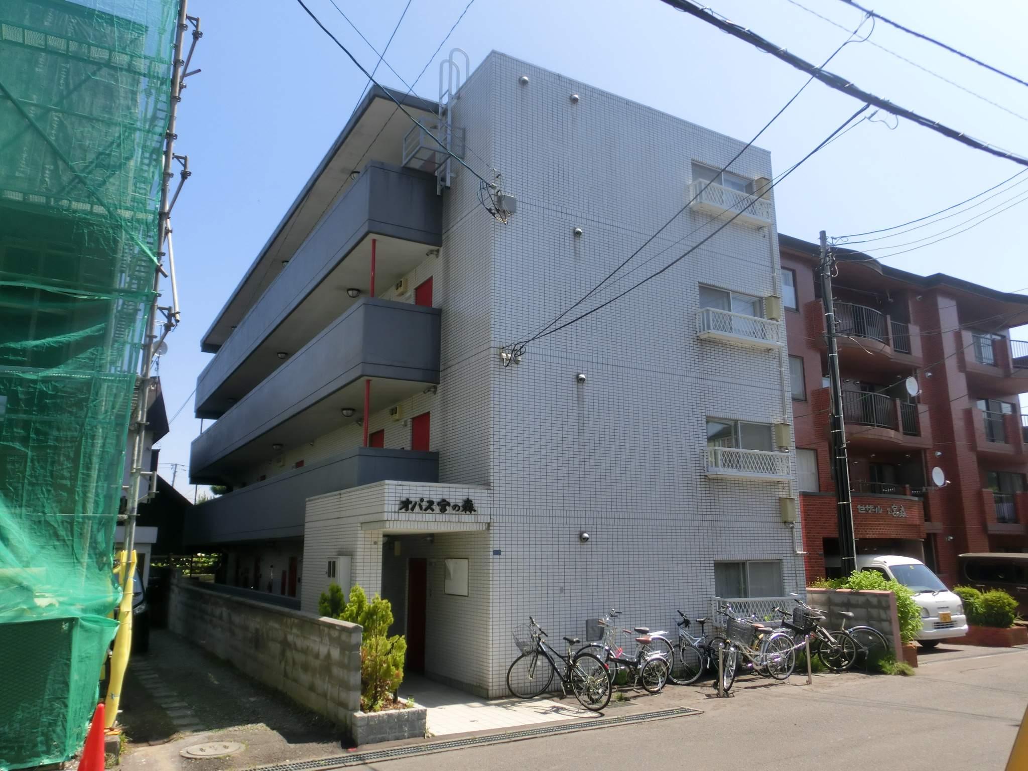 北海道札幌市中央区、二十四軒駅徒歩11分の築28年 4階建の賃貸マンション