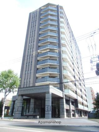 北海道札幌市中央区、バスセンター前駅徒歩5分の築2年 15階建の賃貸マンション