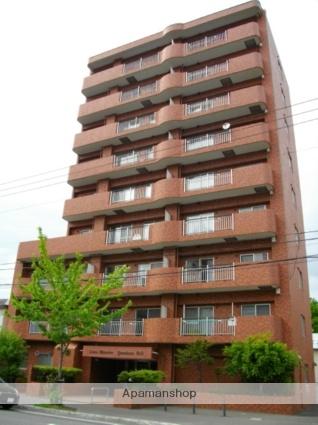 北海道札幌市中央区、ロープウェイ入口駅徒歩4分の築32年 9階建の賃貸マンション