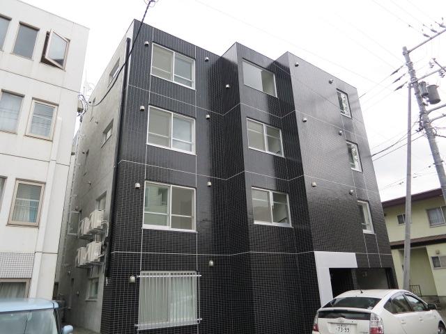 北海道札幌市北区、札幌駅徒歩8分の築2年 4階建の賃貸マンション