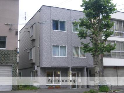 北海道札幌市北区、札幌駅徒歩9分の築15年 3階建の賃貸アパート
