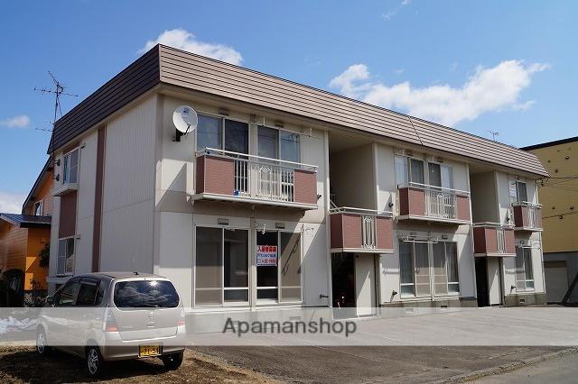 北海道千歳市、千歳駅徒歩30分の築28年 2階建の賃貸アパート