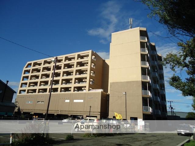 北海道千歳市、千歳駅徒歩11分の築24年 8階建の賃貸マンション