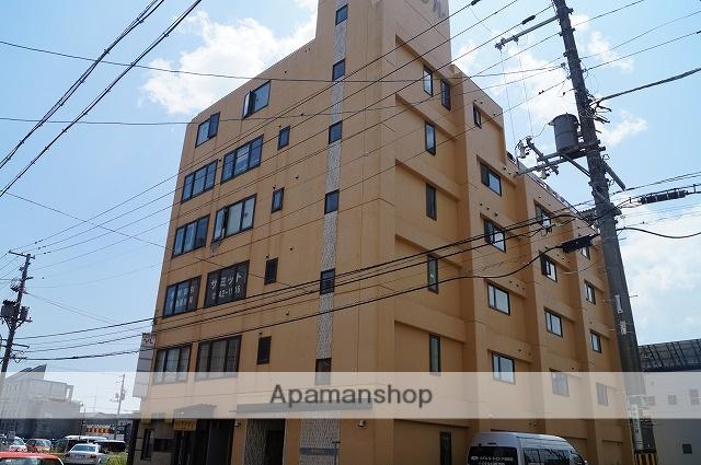 北海道千歳市、千歳駅徒歩4分の築28年 6階建の賃貸マンション
