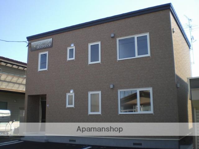 北海道千歳市の築8年 2階建の賃貸アパート
