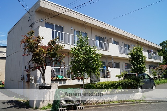 北海道千歳市の築28年 2階建の賃貸アパート