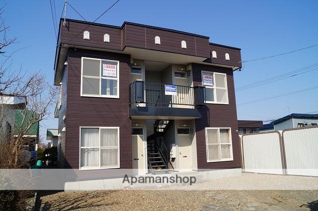 北海道千歳市、千歳駅徒歩15分の築30年 2階建の賃貸アパート