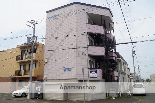 北海道千歳市、千歳駅徒歩4分の築16年 3階建の賃貸アパート