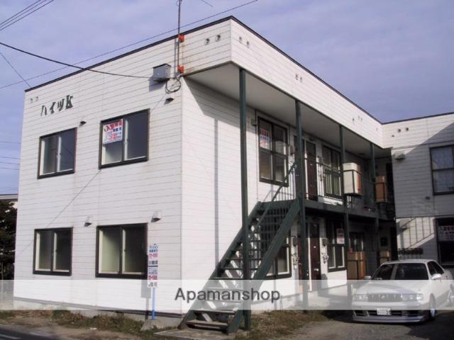 北海道千歳市の築30年 2階建の賃貸アパート