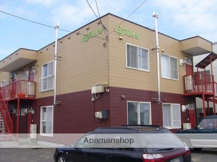 北海道千歳市、千歳駅徒歩11分の築30年 2階建の賃貸アパート