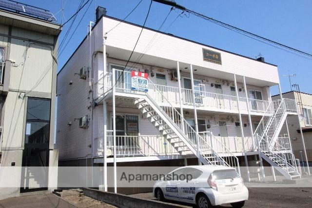 北海道千歳市、千歳駅中央バスバス2分寿1丁目下車後徒歩45分の築30年 2階建の賃貸アパート