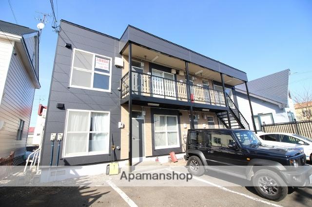北海道千歳市の築26年 2階建の賃貸アパート