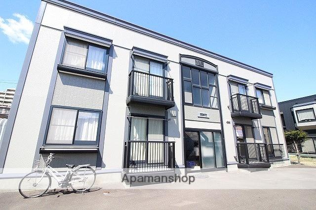 北海道千歳市、千歳駅徒歩7分の築17年 2階建の賃貸アパート