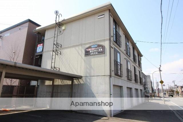 北海道千歳市、千歳駅徒歩16分の築18年 2階建の賃貸アパート