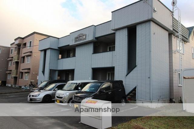 北海道千歳市の築17年 2階建の賃貸アパート