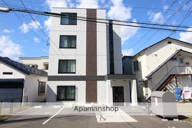 北海道千歳市、千歳駅徒歩5分の築3年 4階建の賃貸マンション