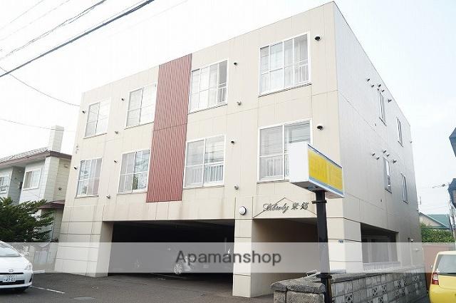 北海道千歳市の築20年 3階建の賃貸アパート