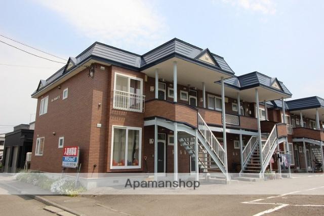 北海道千歳市、千歳駅徒歩22分の築25年 2階建の賃貸アパート