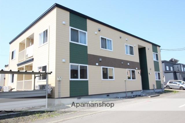 北海道千歳市、長都駅徒歩25分の築6年 2階建の賃貸アパート