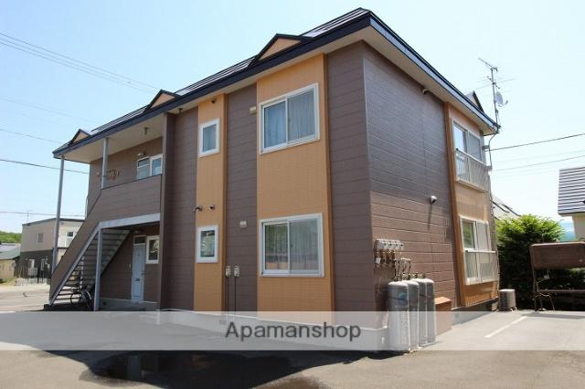 北海道千歳市、長都駅徒歩13分の築21年 2階建の賃貸アパート
