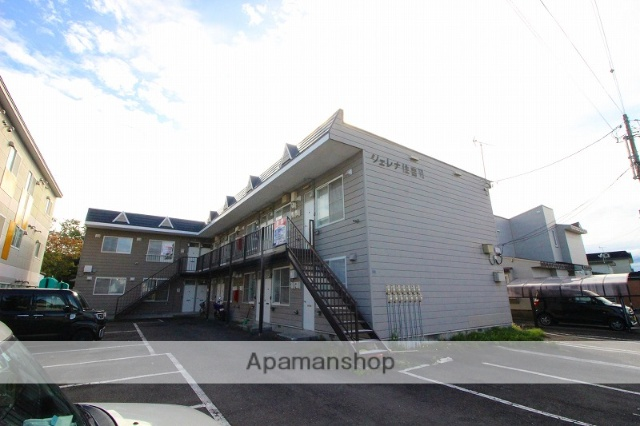 北海道千歳市、千歳駅徒歩25分の築24年 2階建の賃貸アパート