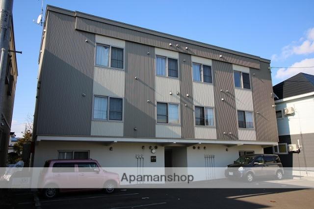 北海道千歳市の築8年 3階建の賃貸アパート