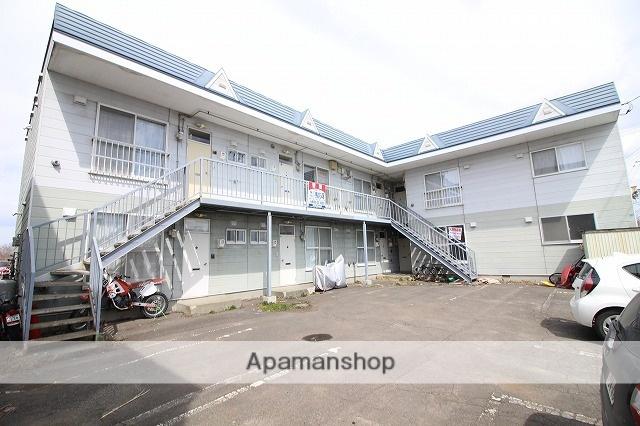 北海道千歳市、千歳駅徒歩30分の築23年 2階建の賃貸アパート
