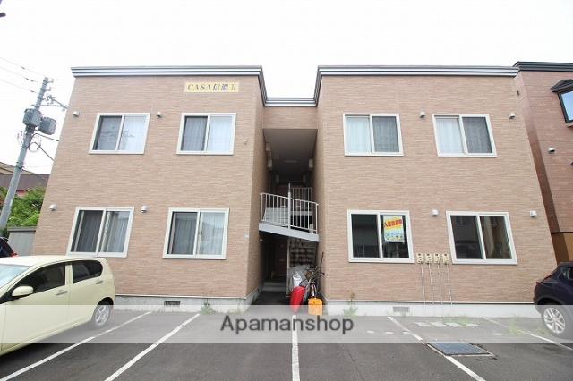 北海道千歳市、千歳駅徒歩26分の築11年 2階建の賃貸アパート
