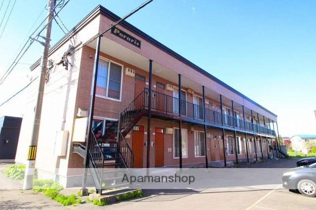 北海道千歳市、千歳駅徒歩12分の築9年 2階建の賃貸アパート