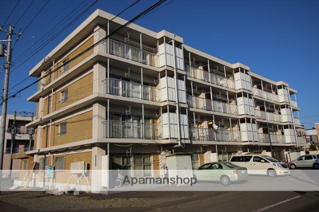 北海道千歳市の築27年 4階建の賃貸マンション