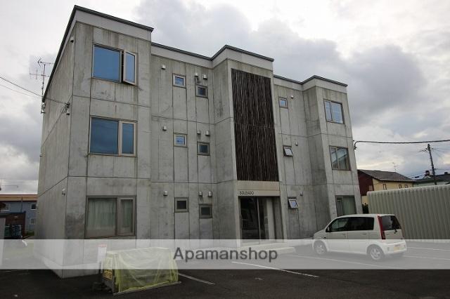 北海道千歳市、長都駅徒歩20分の築12年 3階建の賃貸マンション