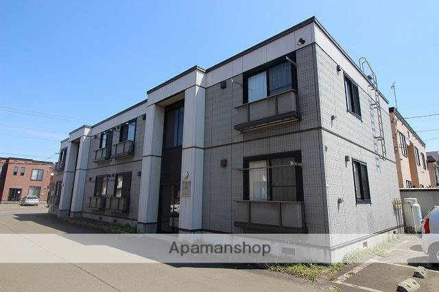 北海道千歳市、千歳駅徒歩5分の築13年 2階建の賃貸アパート
