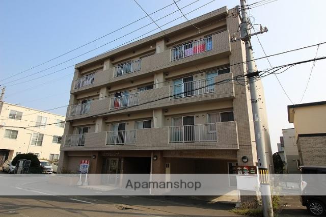 北海道千歳市、千歳駅徒歩3分の築8年 4階建の賃貸マンション