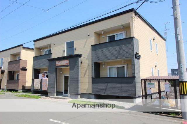 北海道千歳市、長都駅中央バスバス15分北陽高校前下車後徒歩5分の築6年 2階建の賃貸アパート