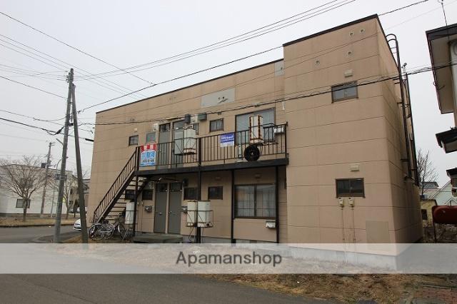 北海道千歳市、千歳駅徒歩12分の築35年 2階建の賃貸アパート