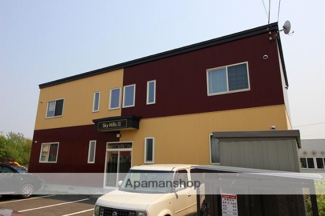北海道千歳市、千歳駅徒歩15分の築6年 2階建の賃貸アパート