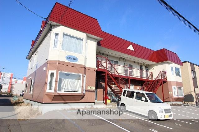 北海道千歳市の築27年 2階建の賃貸アパート
